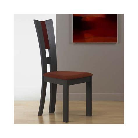 chaise bois massif moderne