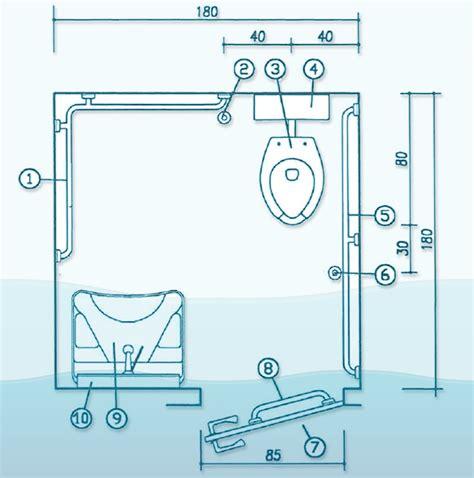 progetto bagno disabili bagni per disabili a norma vasche specchi lavabi