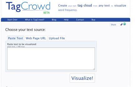 Tagcrowd Resume resume tips free service to determine key