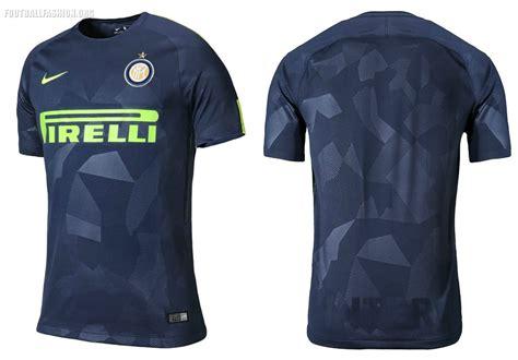inter milan s 2017 18 thunder blue nike third kit football fashion org