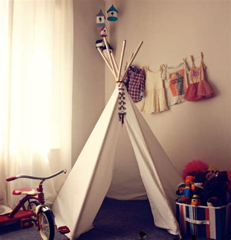 Superior Boy And Girl Room Ideas #2: Cool-Design-Ideas-With-Teepee-For-Kids-Room-2.jpg