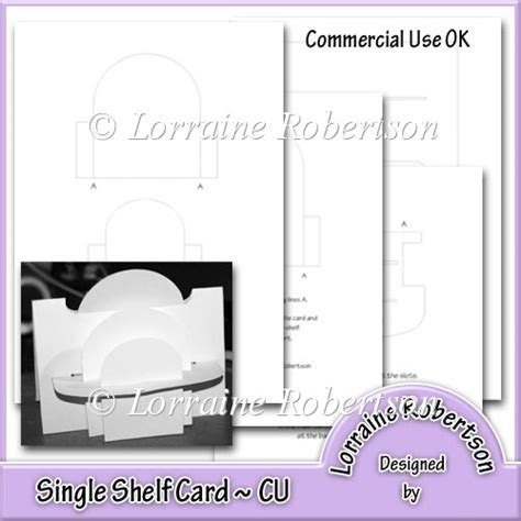 ebook shelf cards template single shelf card template 163 2 00 instant card