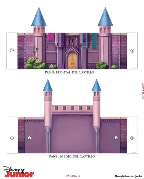 Sleeping Castle Papercraft - 17 best images about sleeping pink princess