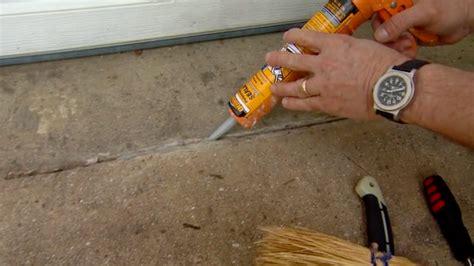 Seal Garage Floor Cracks by Sealing A Concrete Slab Ardel Concrete