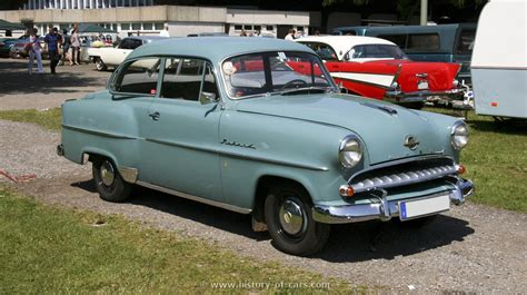 opel olympia 1952 opel 1955 olympia rekord the history of cars exotic