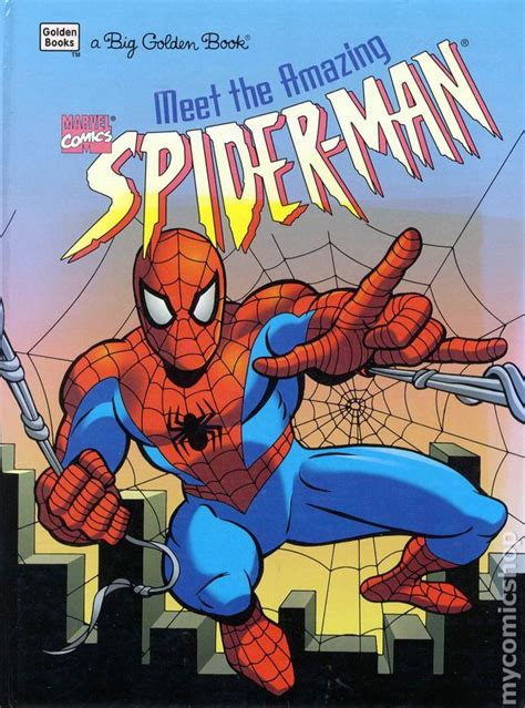meet the amazing spider man hc 1996 big golden book comic books