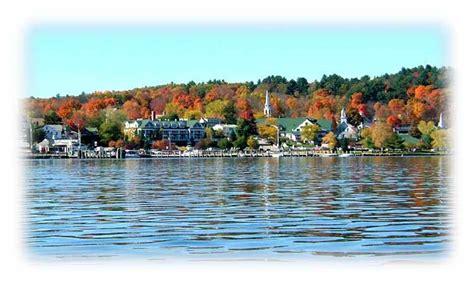 lake winnipesaukee new hshire boat rentals lakefront living nh lakes region fall foliage