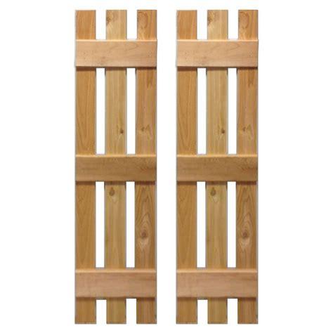 design craft millworks 12 in x 36 in cedar board