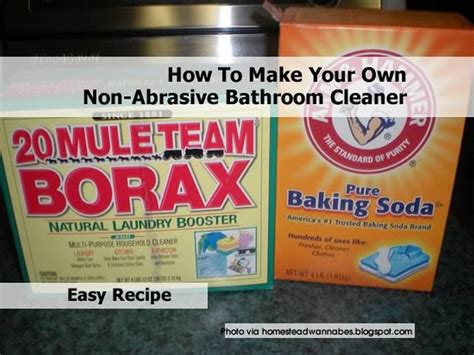 make your own bathroom cleaner how to make your own non abrasive bathroom cleaner