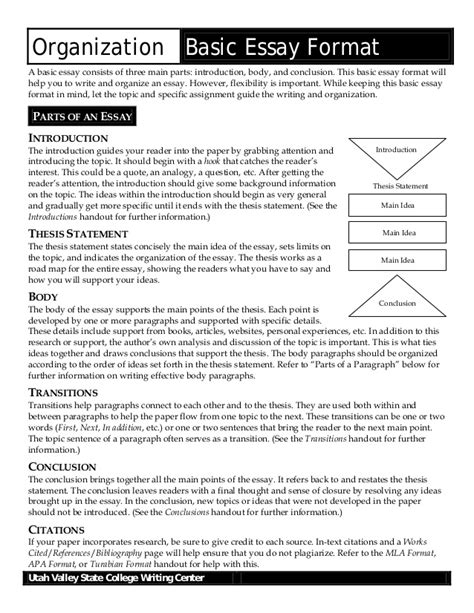 Standard Essay Format Exle by Essay Format Template From Assignmentsupport Essay Writing Servi