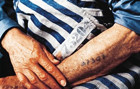 holocaust tattoo evil looking implements used by auschwitz guards to