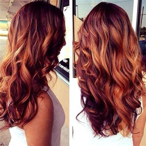 red blonde and brown highlights hair makeup pinterest 15 best ideas about red hair with highlights on pinterest