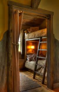 Bunk Beds Room Small Rustic Style Room With Bunk Bed