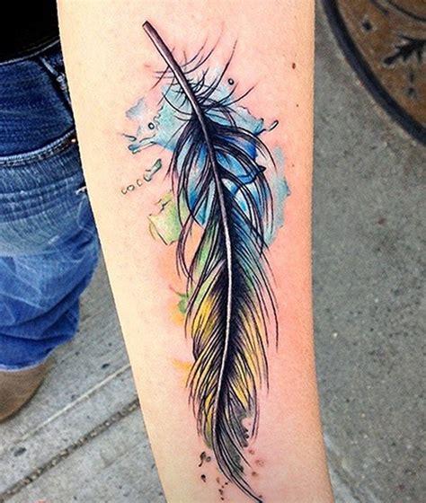 feather tattoo on girl s arm lower inner arm tattoosdenenasvalencia