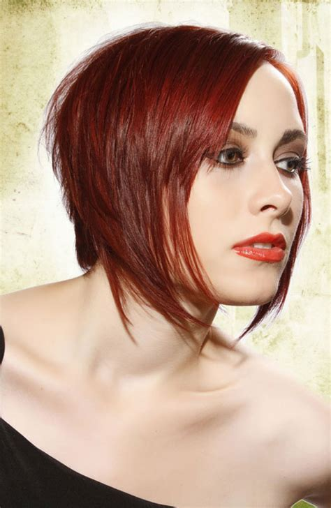 Bob Hairstyles In Red | 2013 short bob hairstyles for women short hairstyles