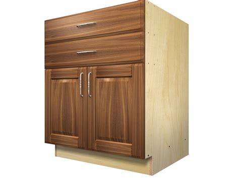 Barker Cabinet Doors 2 Door 2 Drawer Base Cabinet
