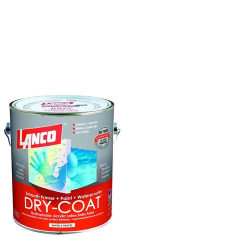 home depot paint one coat lanco coat 1 gal accent satin acrylic interior