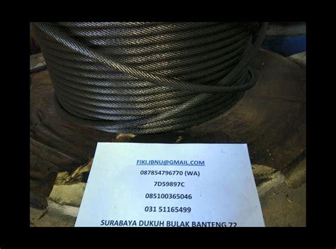 2mm X 10 Meter Kawat Stainless Steel Wire 304 Soft jual kawat seling surabaya harga murah baja galvanis