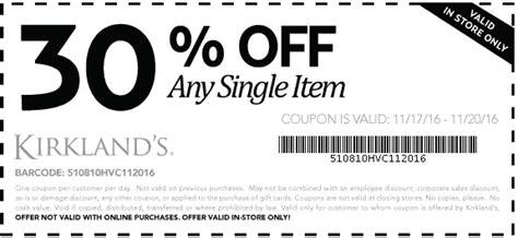 kirklands home decor printable coupons kirklands coupons 25 off 75 at kirklands home stores