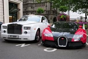 Bugatti Rolls Royce Bugatti Veyron And Rolls Royce Phantom A Photo On Flickriver