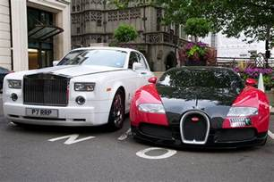Bugatti Veyron Vs Rolls Royce Bugatti Veyron And Rolls Royce Phantom A Photo On Flickriver
