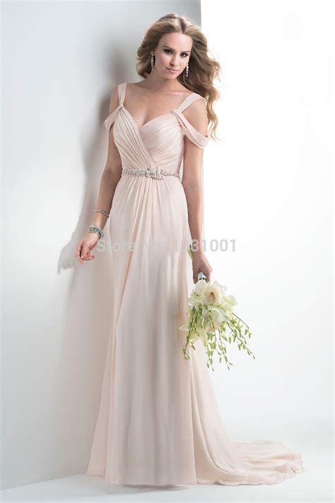 modern new year dress 2016 modern style v neck boho wedding dress