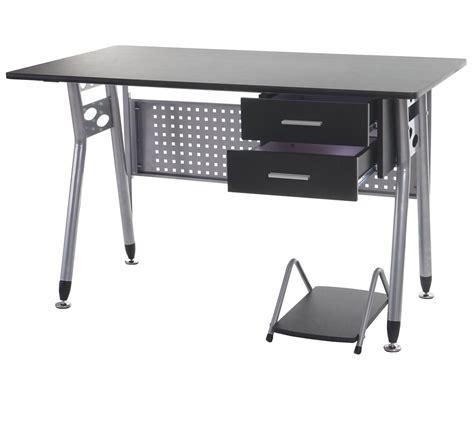cassetti in metallo scrivania per computer caribe struttura in metallo