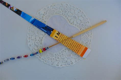 How To Make Bamboo Paper - bamboo paper bead roller