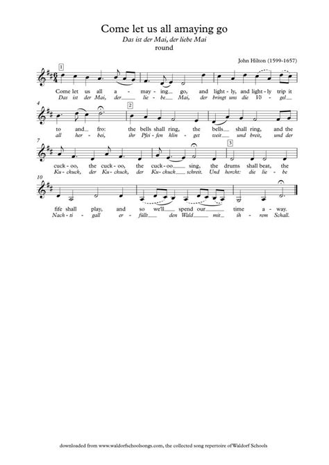 Waldorf School Songs | School songs, Teaching music