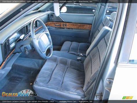 blue interior 1994 buick lesabre limited photo 9