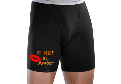proprty of custom namemen s boxers briefs s by