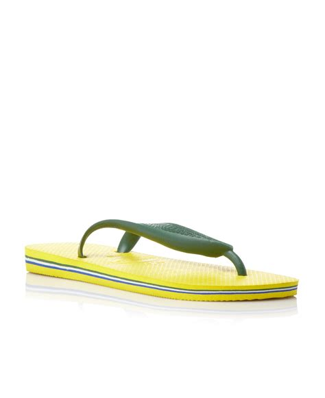 Yellow Black Jelly Flat Shoes 38 havaianas flat sandals in yellow lyst