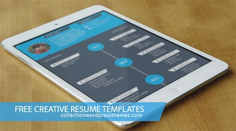 15 free creative resume templates