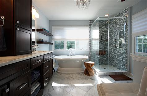 Small Bathroom Tub Ideas modern master bath in northern virginia lauren murphy