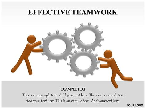 effective teamwork powerpoint template effective teamwork