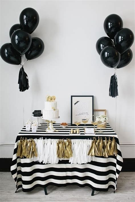 black and white bridal shower centerpiece ideas 21 sweet balloon decorations for a bridal shower shelterness