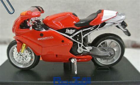 Maisto Motor Ducati Scrambler Yellow Skala 118 1 18 scale maisto diecast ducati 999s motorcycle model