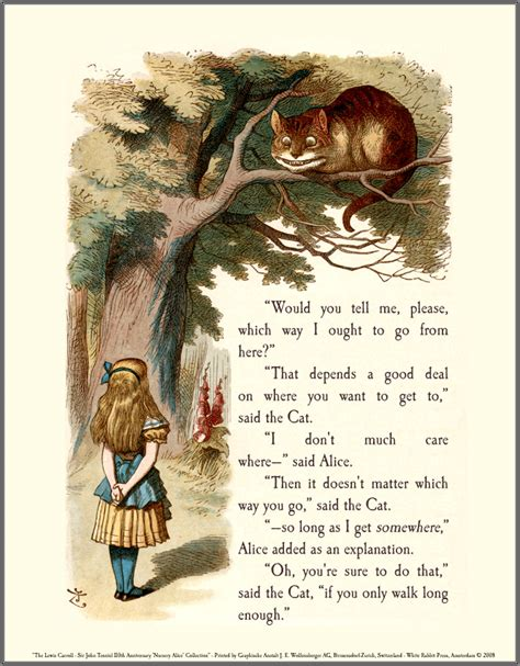 and goes toã books cheshire cat lewis carroll quotes quotesgram