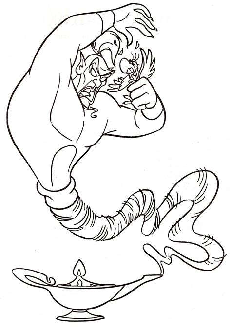 walt disney coloring pages jafar iago walt disney