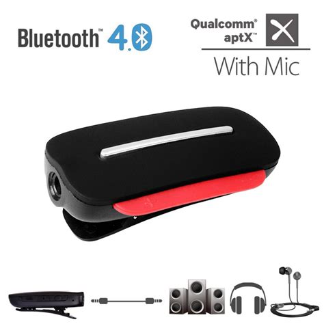 Bluetooth 4 1 Receiver For Earphone X8 avantree aptx 2 in 1 bluetooth 4 0 headphone receiver and wireless headset with built in mic