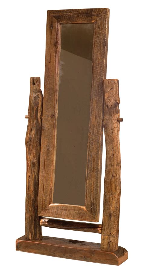 teton floor mirror rustic furniture mall by timber creek