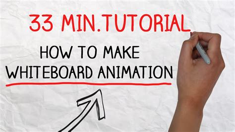 free doodle animation maker tutorial how to make doodle using whiteboard