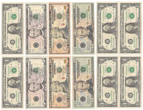 printable mini fake money fake money for kids printable sheets play money black