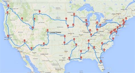map a road trip computing the optimal road trip across the u s dr