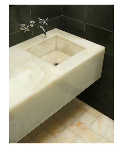 Onyx Vanity by Guest Bath Onyx Vanity Park Ave Nyc Townhouse