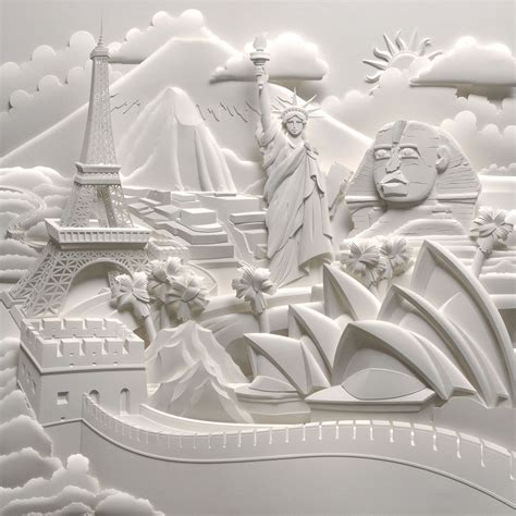 How To Make 3d Paper Sculptures - jeff nishinaka paper sculpture