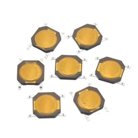 4 4 2 Mm Smd Tactile Membrane Switch Spst No 4 Pin Push Button Aq99 50pcs tact switch smt smd tactile membrane switch push