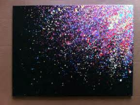 paint splatter canvas art i need to try this i would