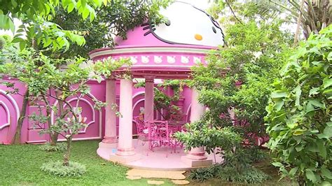 desain dapur hello kitty rumah hello kitty di indonesia youtube