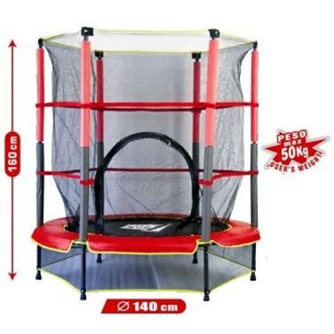 prezzo tappeto elastico tappeto elastico per bambini con rete di protezione cm